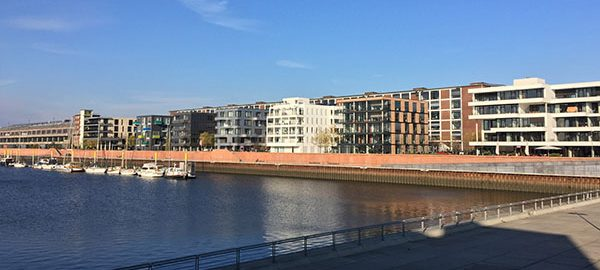 Motiv: Überseestadt, Hafen